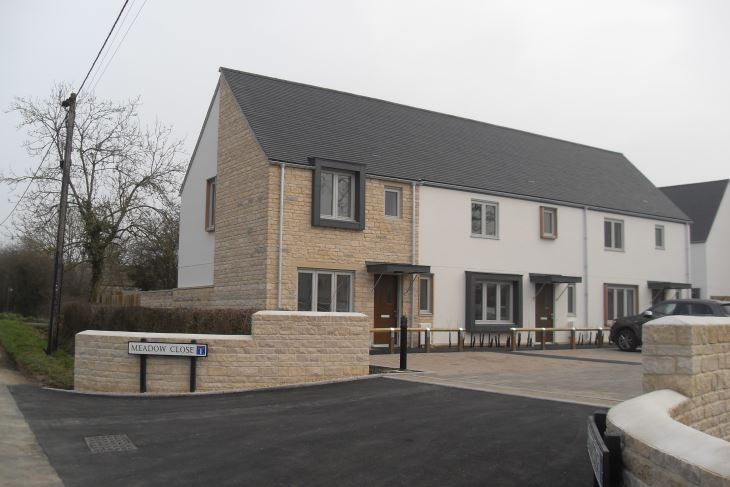 Ten new homes at Upper Minety