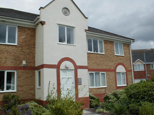 Flats in Swan Drive, Staverton
